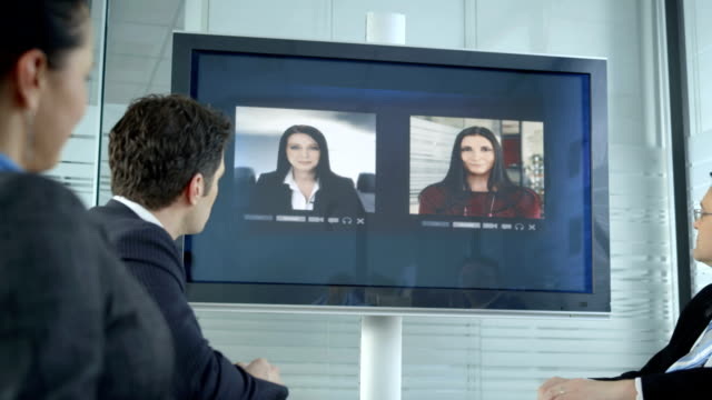 HD DOLLY: Video Conference With Business Partners