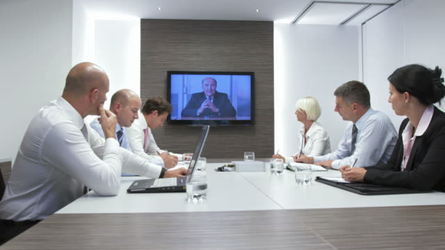 HD DOLLY: Video Conference With Executive Director