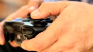 Video game, controller, gamer, playing, human hands, adult