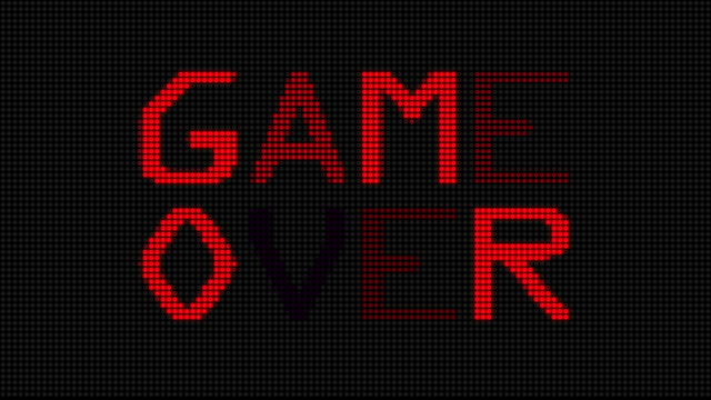 Video Game Over (HD)