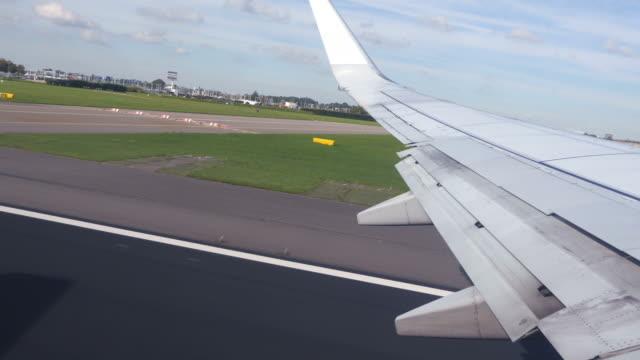 Video von Flugzeug abheben in 4 K