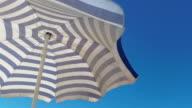 Video van de parasol in 4K