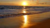 Wunderschöner Sonnenuntergang in Kalifornien in 4 K