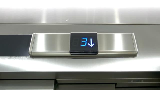 Video of countdown elevator in 4K