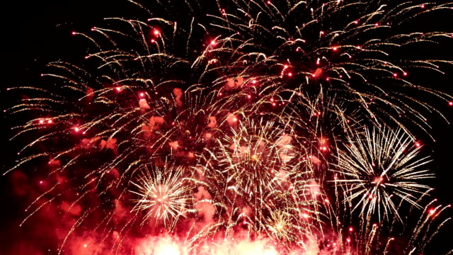 Video of fireworks display