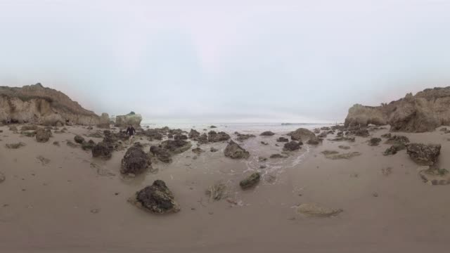 VR video of Malibu Beach