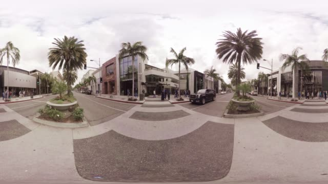 VR video of Rodeo Drive LA