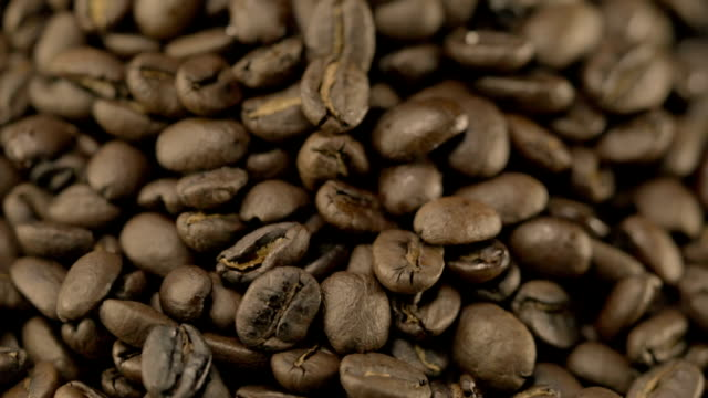Video of Rotating Coffee Beans