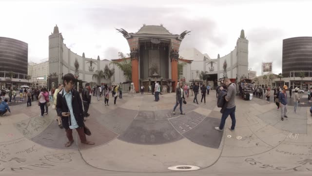 VR video of LA's Chinese Theatre
