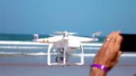 Video von Aufnahmen von einer Drohne in echte Zeitlupe