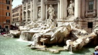Video of the Trevi Fountain in Rome