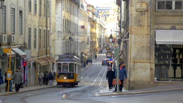 Video der Straßenbahn in Lissabon in 4 K