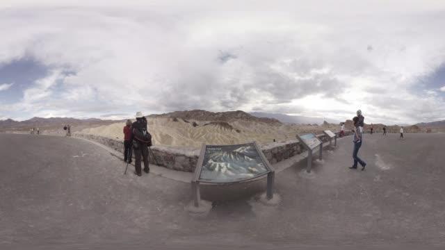 VR video of Zabriskie Point Death Valley California