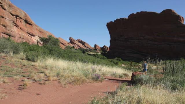 HD video Red Rocks Park trail running Colorado