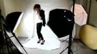 Video shot of photo shoot