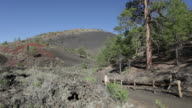 HD video Sunset Crater Volcano National Monument Arizona