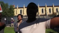 Video taken at the Plaza de Cultura y Artes at 501 N Main St in Los Angles California Footage includes Broll and SOT with two interviews