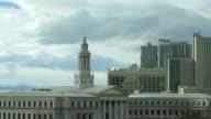 HD video time lapse downtown Denver