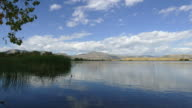 HD video time lapse Harriman Reservoir and Colorado Rocky Mountains