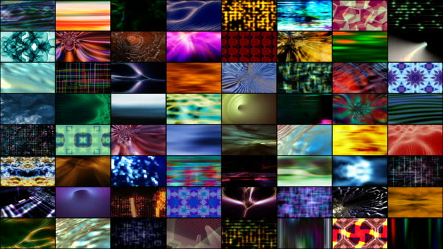Video Wall: Abstract