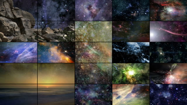 Video Wall: The Heavens