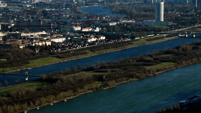 Wien, Luftaufnahme