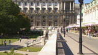 TU Vienna Hofburg and the Palmenhaus (Palm House)