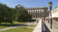 PAN Vienna Hofburg Palace and Palmenhaus (Palm House) in the Burggarten