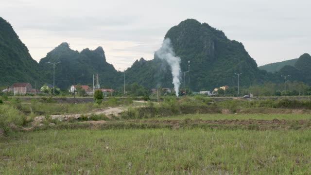 Vietnamesisch-Dorf in der Nähe von Phong Nha-Nationalpark