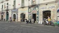 Vietri city and the colorfull artigianal ceramic shops