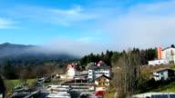 Blick vom Aussichtspunkt Mariazell, Österreich