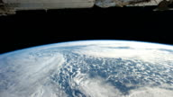 / view from International Space Station of the on a pass from northwestern Australia making two complete orbits to eastern Quebec near the Gulf of St...