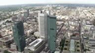 WS View from Main Tower over city / Frankfurt/Main, Hesse, Germany