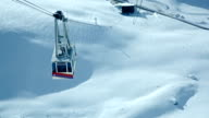 HD: View from ski cable car