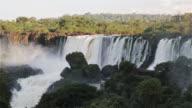 LS View from the edge of Iguazu Falls / Cataratas del Iguazu / Puerto Iguazu, Argentina