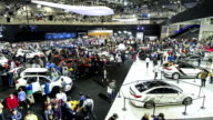 View of 2015 Seoul Motor Show in Kintex