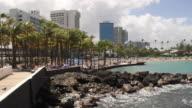 View of a Hotel Resort in San Juan, Puerto Rico