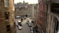 View of a street in Edinburgh