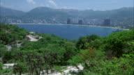 WS View of acapulco bay city