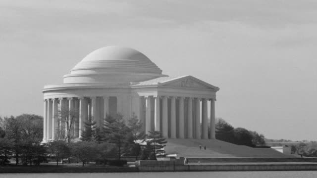 WS View of across Tidal Basin to Jefferson Memorial