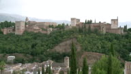WS View of Alhambra / Granada, Andalusia, Spain