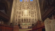 MS PAN View of altar and reredos at Saint Thomas Church / New York, United States