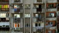 MS TU View of Apartment building / Bucharest, Romania