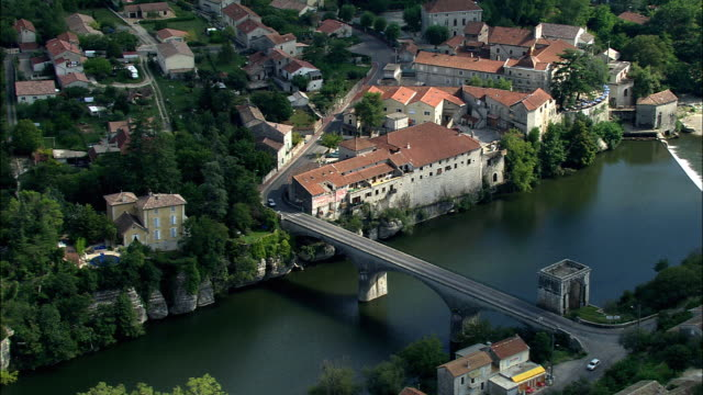 AERIAL, View of Ardeche, Rhone-Alpes, France