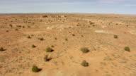 WS AERIAL View of Arizona Desert / Arizona, United States