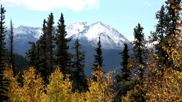 View of Aspen's mountains