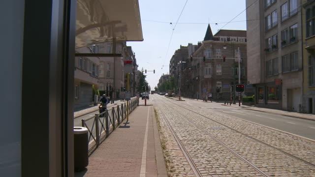 WS View of Avenue Brugmann / Brussels, Brussels Capital Region, Belgium