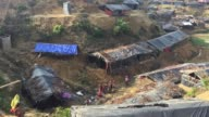 View of Balukhali Refugee camp Cox's Bazar Chittagong Bangladesh September 15 2017 Aung San Suu Kyi said September 19 she does not fear global...