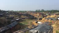 View of Balukhali Refugee camp Cox's Bazar Chittagong Bangladesh September 16 2017 Aung San Suu Kyi said September 19 she does not fear global...