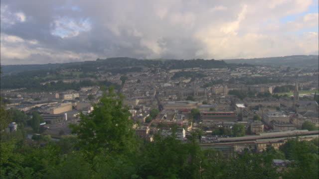 WS HA PAN View of Bath / Somerset, England